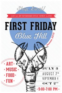 1st Fridays in Blue Hill Maine
