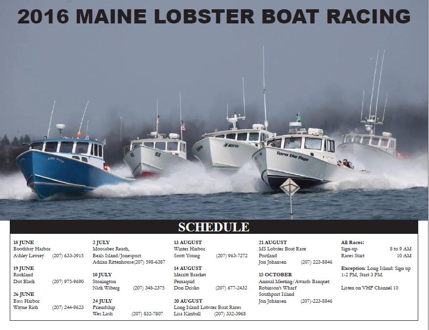 Stonington Lobster Boat Races 2016