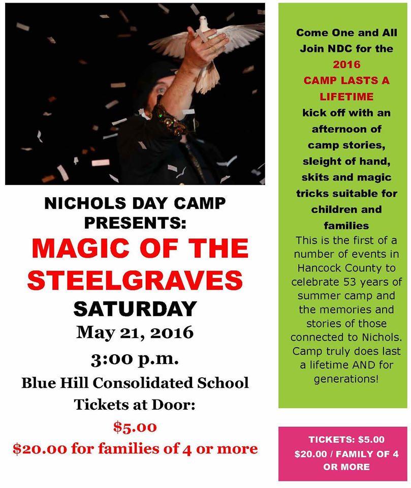 Nichols Day Camps, Sedgwick Maine