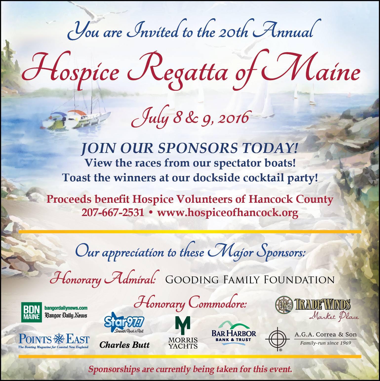 Hospice Regatta 2016
